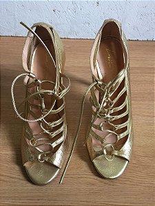 Sandália dourada (37) - Luiza Barcelos