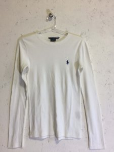 Blusa manga longa (PP) - Ralph Lauren