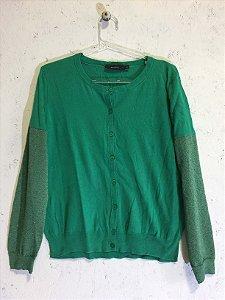 Cardigan verde (M) - Animale