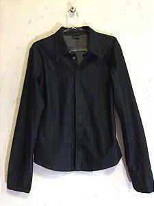 Camisa jeans escuro (M) - Zoomp