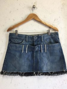 Saia jeans (38) - Farm