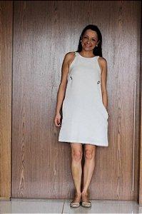 Vestido off white (P) - Le Lis Blanc