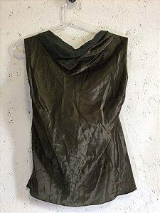 Regata verde (M) - Espaço Fashion NOVA