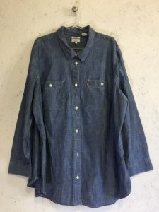 Camisa jeans boyfrien (XG) - Levi's