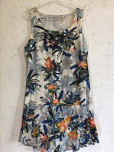 Vestido flores (P) - Maria Filó