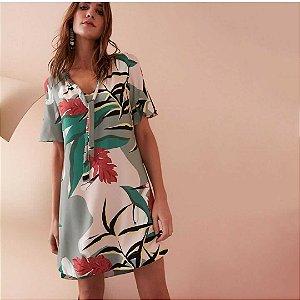 Vestido cores (P) - Maria Filó