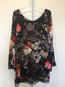 Vestido estampado (P) - Chou Chou