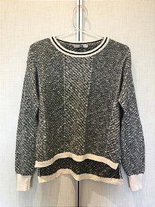 Blusa tricot manga longa (PP) - Pop Up Store