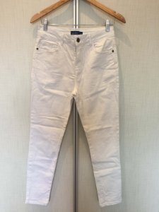 Calça jeans branca (42) - Ak jeans casual