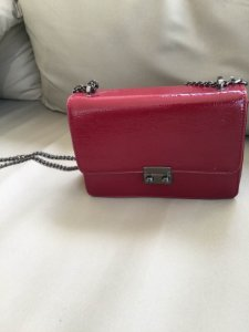 Bolsa vermelha verniz - Amaro