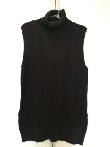 Regatão preto tricô (G)