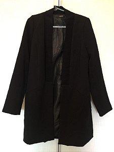 Casacão preto (P) - Amaro