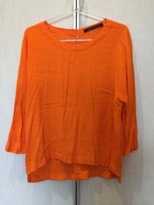 Blusa laranja (M) - Zara
