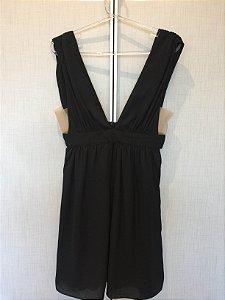 Vestido curto preto (P) - Laví