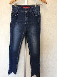 Calça jeans barra sem costura (38) - Maria Filó