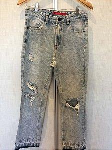 Calça jeans americano (38) - Maria Filó