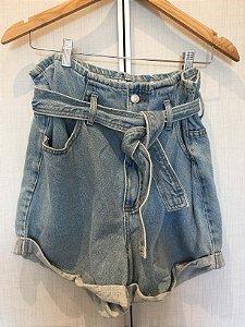 Short jeans cintura alta (34) - EVA