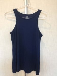 Camiseta azul marinho fitness (P) - Lauf