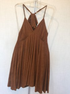 Vestido suede (M) - Chiclé