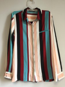 Camisa listras (GG) - Cortelle