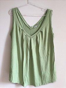 Camiseta green (M) - Graça Ottoni