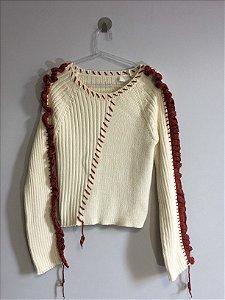 Blusa tricot (M) - Zara