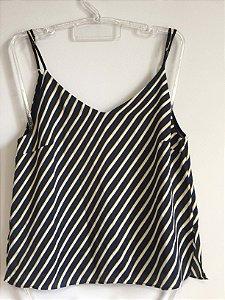Camiseta listras (P) - Le Lis Blanc