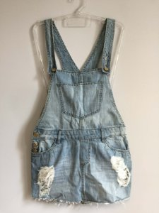 Jardineira jeans (36) - Boudoir