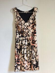 Vestido animal print (P) - Shoulder