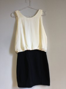 Vestido off white (M) - Espaço Fashion