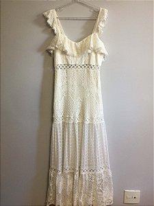 Vestido off white (38) - LN