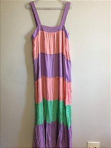 Vestido cores (M) - Maria & Maria