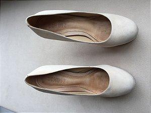 Sapato meia pata off white (35) - Schutz