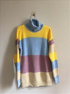 Blusa tricot cores (P)