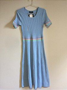 Vestido midi tricot Albany (P) - Janaina Soleo NOVO