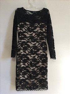 Vestido renda midi (38) - Shoulder