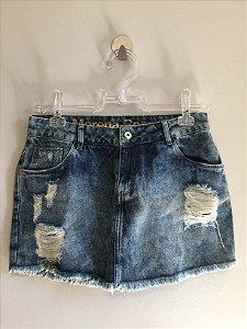 Saia jeans (38) - Morena Rosa
