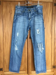 Calça Jeans rasgado (40) - Siberian
