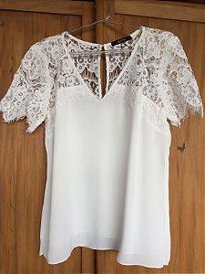 Blusa off white (M) - Amissima
