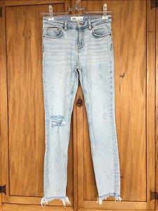Calça jeans destroyed (36) - Zara