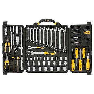jogo de ferramentas com maleta 110 peças