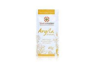 Argila Dourada Natural e Orgânica Terramater 40g