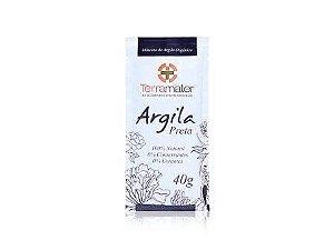 Argila Preta Natural e Orgânica Terramater 40g