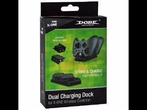 Kit Dock Station + 2 Baterias Dobe Compatíveis P/ Controle Xbox One
