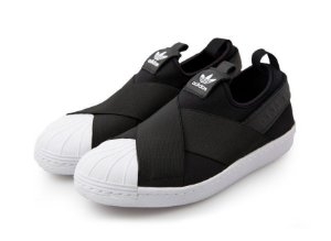 Tênis Adidas Superstar Slip On Unissex - PRETO