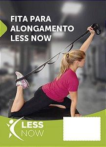 Fita De Alongamento Less Now Fisioterapia Yoga Ou Pilates