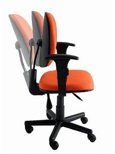 Cadeira Executiva Giratória com Braço e Back-system