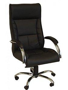 Cadeira Presidente Gaúcha com Base Cromada