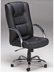 Cadeira Estofada Presidente Lumi