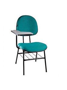 Cadeira Universitária com Prancheta Fixa Executiva